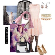 """Structure and froth"" by maria-kuroshchepova on Polyvore"