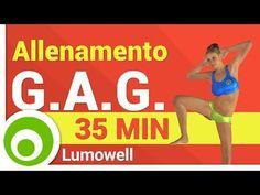 Allenamento GAG Completo - Gambe Addominali e Glutei - YouTube