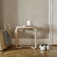 The Turn Stool in untreated ash by @skagerak_denmark can also be used as a small coffee table, or bedside table. Available at Skandium. . . #skandium #skagerak #denmark #copenhagen #danish #danishhome #danishstyle #danishdesign #scandi #minimalism #minima