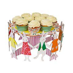 Bunny Party Cake Stand | dotandbo.com