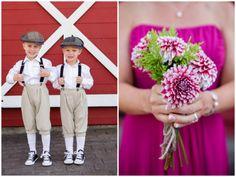 cute vintage-inspired ring bearer attire   Washington Barn Wedding   Red Sparrow Photography