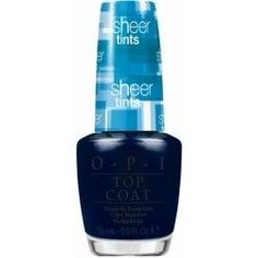 OPI Sheer Tints Collection I Can Teal You Like Me