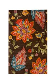 nuLOOM floral motif area rug on HauteLook