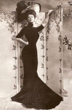 Fameous beauties of the Edwardian Era - Camille Clifford (1885-1971)
