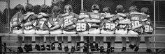 Little league photography, baseball, team photo