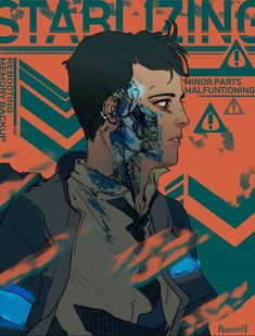 Detroit become human Connor By: peanutgaga