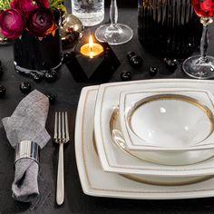 Jumbo Lucida 61 Parça Royal Pearl 12 Kişilik Yemek Takımı Karaca My Design, Pasta, Plates, Tableware, Decor, Licence Plates, Dishes, Dinnerware, Griddles