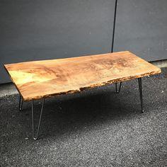 Blue Pine Live Edge Table