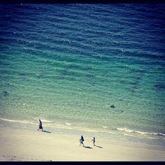A bird watching a walk on the beach. Norway Beach, Beach Walk, Bird Watching, Waves, Photo And Video, Outdoor, Instagram, Outdoors, Ocean Waves