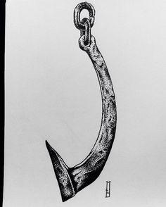 Tattoo design available #hook #butcherhook #butcher #hooktattoo #meat #pain #suffering #death #art #drawing #dark #darkart #vegetarian #love #london #londonart #londonartist #shoreditch #shoreditchtattoo #londontattoo #londontown #stronghold #strongholdtattoo #portfolio #tattooportfolio #iblackwork