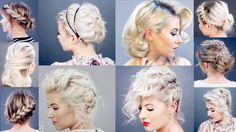 10 Easy Short HairStyles With Straightener | Milabu | Hair ...