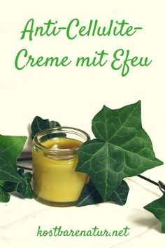 Homemade ivy ointment - treat orange peel naturally- Selbstgemachte Efeu-Salbe – Orangenhaut natürlich behandeln Ivy can easily be used to create homemade skin care products. This recipe for ivy ointment is simple, inexpensive and effective! Homemade Skin Care, Diy Skin Care, Homemade Beauty, Bio Cosmetic, Cosmetic Brushes, Belleza Diy, Peau D'orange, Homemade Cosmetics, Skin Firming