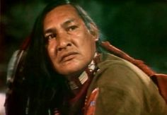 "Will Sampson in ""The White Buffalo""."