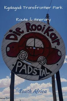 Time for a road trip to the Kgalagadi in South Africa. Here's a route with accommodation suggestions from Johannesburg. #roadtrip #Kgalagadi #route #accommodation #camping #caravanning #RV #roadsidestops #coffeeshops #safaridestination #adventuredestination #smalltowns #SouthAfrica #itinerary Fox Facts, Middle Island, Game Reserve, Nature Reserve, Africa Travel, South Africa, Travel Inspiration, Adventure, Park