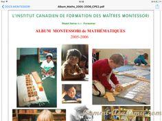 Très bon site sur la méthode montessori : Alum montessori: Vie pratique - Sensoriel - Maths et Langage