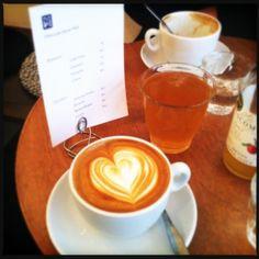 good coffee in paris?  Téléscope 5 rue Villedo 75001 Paris.
