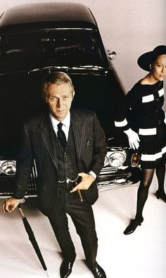 Steve McQueen and Faye Dunaway, The Thomas Crown Affair (1968)