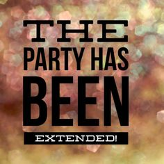 Party extended www.GetGorgeousEyes.com