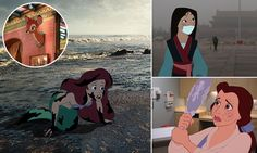 What if Disney princesses didn't end up so happily ever after? So sad to think about!!!