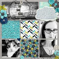 Keep Going by Amanda Yi and Shawna Clingerman #scrapbook #digiscrap #projectlife