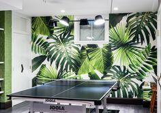 Palmy Nights - A Designer's Home That Takes Wallpaper To The Next Level - Photos