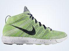nike flyknit chukka grey electric green 1 Nike Lunar Flyknit Chukka   Wolf Grey   Cool Grey   Electric Green