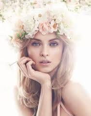 Image result for floral portrait