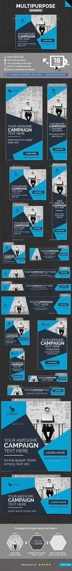 Multipurpose Web Banners Template PSD. Download here: http://graphicriver.net/item/multipurpose-banners/15733161?ref=ksioks
