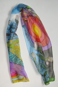 Hey, I found this really awesome Etsy listing at http://www.etsy.com/listing/89248095/sale-hand-painted-silk-scarf-four