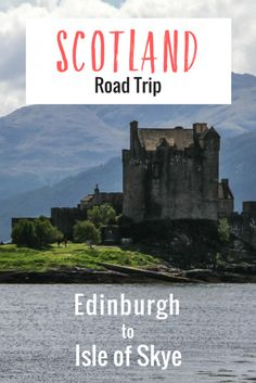 One of the most beautiful road trips in Scotland you can do is driving from Edinburgh to the Isle of Skye. From the hilly and historical capital, through the scenic Glencoe area and all the way to one