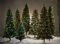 5X10FT-Christmas Lighting Tree Photography Backdrops Family Party Decoration House Photo Studio Background