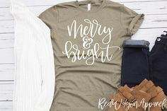Merry and Bright  Unisex Jersey Short Sleeve T Shirt  Merry