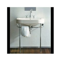 Duravit console sink for bathroom