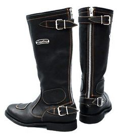 Gasolina handcrafted vintage motorcycle boots that portray cafe racer styling and quality Motorcycle Riding Gear, Mens Motorcycle Boots, Motorcycle Style, Motorcycle Outfit, Classic Motorcycle, Motorcycle Clothes, Motorcycle Fashion, Motorcycle Racers, Men's Shoes