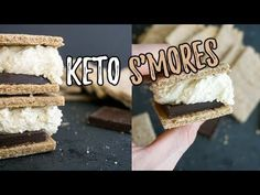 Low Carb Smores | Happy National Smores Day! - KetoConnect
