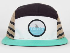 8efeabe6d70 Swim Team 5 Panel Hat by THE DECADES - Oh Snapbacks