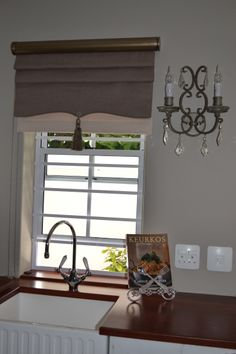 Roman Blind designed by Lynda Louw Interiors