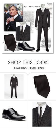 """Viggo Mortensen"" by angelicallxx ❤ liked on Polyvore featuring Dolce&Gabbana, Ermenegildo Zegna, Versace and RedCarpet"