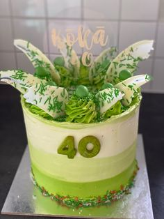 Planter Pots, Cakes, Green, Cake Makers, Kuchen, Cake, Pastries, Cookies, Torte