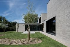 house + swimmingpool VWB | afsnee - Projects - CAAN Architecten / Gent