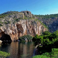 The incredible Vouliagmeni Peninsula. The Margi - Athens, Greece Greece Vacation, Greece Travel, Vacation Spots, Attica Greece, Athens Greece, Beautiful Islands, Beautiful Places, Places Around The World, Around The Worlds
