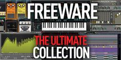 On this page we compile our roundups of the best freeware available for music producers, recording musicians and DJ's, complete with download links. The best synths, effects, DAWs and beats all for free. Divided into category. So without further ado...