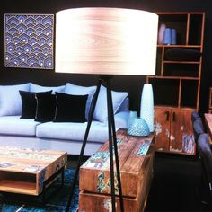 Hot New lamps in Hunter Furniture now #furniturehunters