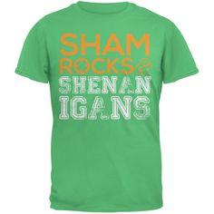 St. Patricks Day - Shamrocks & Shenanigans Irish Green Youth T-Shirt