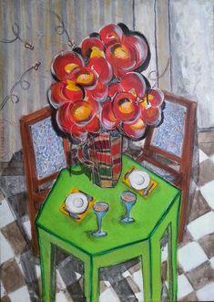 Tavolino verde