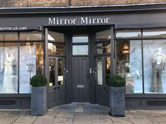 Mirror Mirror Bridal shop - Brides best friend for wedding dresses. Searching for your dream wedding dress? Visit our London boutique to see our extensive designer collection including our own Mirror Mirror couture gowns. Elegant Wedding Dress, Dream Wedding Dresses, Mirror Mirror Bridal, Designer Gowns, Bridal Boutique, Dream Dress, Designer Collection, Luxury Wedding, Dressing