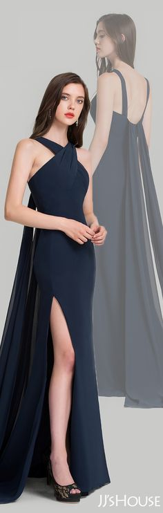 Great cut and classic color made this evening dress timeless! #JJsHouse #Evening