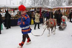 Jokkmokk Winter Market - Jokkmokk is one of Sweden's 10 most beautiful towns!!