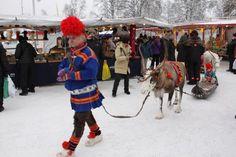 Jokkmokk Winter Market - Jokkmokk is one of Sweden's 10 most beautiful towns!!