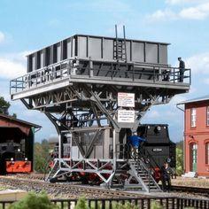 Grande station de ravitaillement charbon #HO #Auhagen A retrouver ici : http://www.latelierdutrain.com/les-ravitaillements/100947-grande-station-de-ravitaillement-charbon-ho-187-auhagen-11416.html